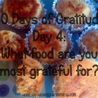 30 Days of Gratitude Day 4: What food are you most grateful for?