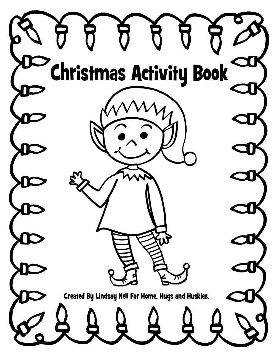 On The Tenth Day of #Blogmas - Sharing a Christmas Activity Book (Free Printable)