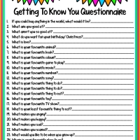 Getting To Know Your Child or Stepchild Questionnaire + Free Printable